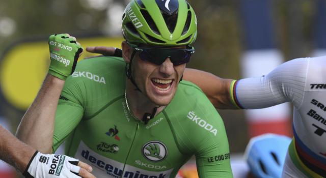 """Vuelta a España 2020, Sam Bennett prima del declassamento: """"Sono davvero contento di vincere su un arrivo dove ha trionfato anche Sean Kelly"""""""