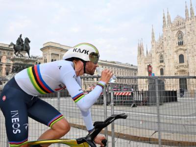 Giro d'Italia 2020: Filippo Ganna fa poker nella cronometro di Milano. La Corsa Rosa va a Tao Geoghegan Hart