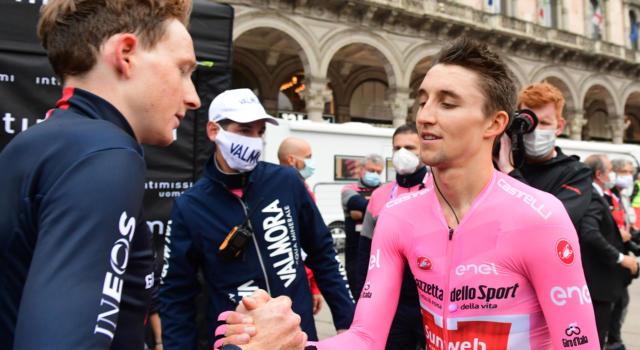 """Giro d'Italia 2020, Jai Hindley: """"Sarò sempre orgoglioso di quello che ho conquistato ma sono un po' deluso. Complimenti a Geoghegan Hart"""""""