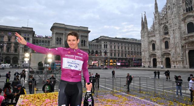 """Giro d'Italia 2020, Arnaud Démare: """"Una soddisfazione quattro tappe e la Maglia Ciclamino"""""""