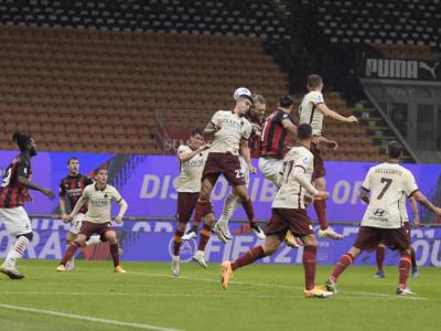 Calcio, Serie A 2020-2021: gol, errori e spettacolo. Milan-Roma termina 3-3