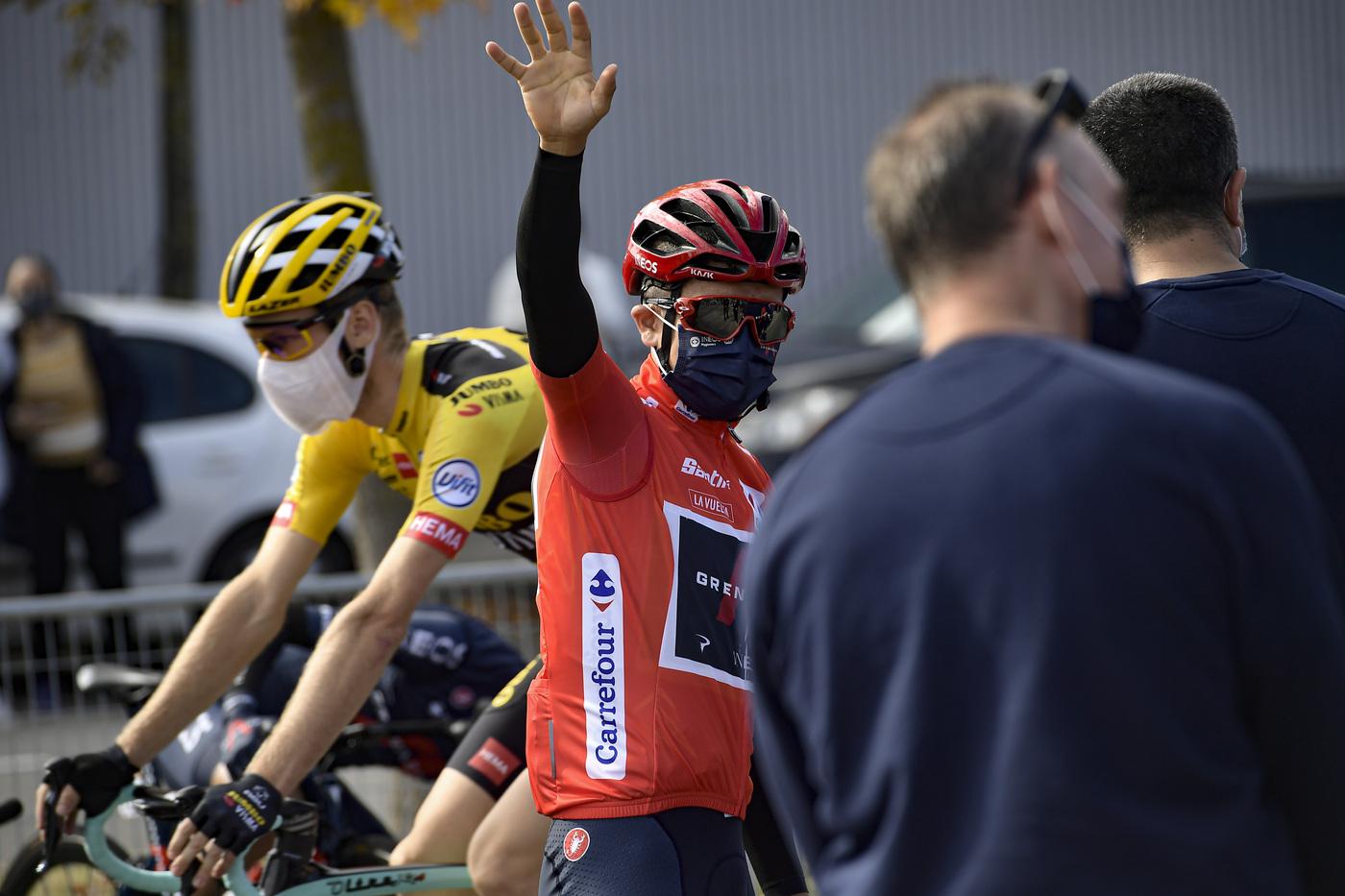 Classifica Vuelta a España 2020, nona tappa: Richard Carapaz tiene la vetta della graduatoria