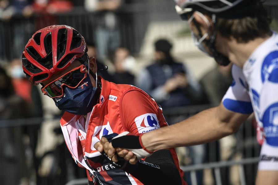 Vuelta a España 2020, tutte le classifiche dopo l'ottava tappa: Primoz Roglic a soli 16? dalla maglia rossa di Richard Carapaz