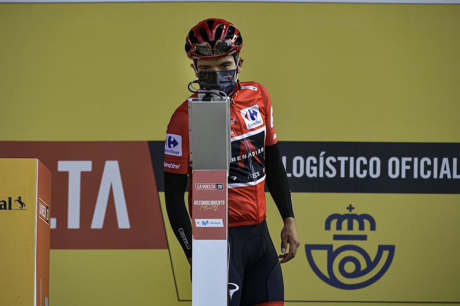 """Vuelta a España 2020, Richard Carapaz: """"Roglic è forte, ma siamo ancora in lotta. È stato un bel duello"""""""