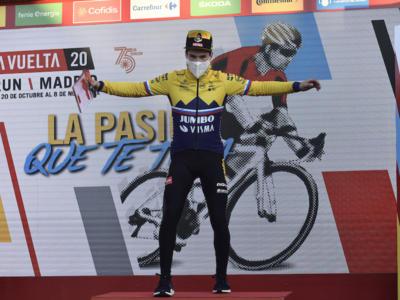 """Vuelta a España 2020, Primoz Roglic: """"Sono come il vino, più vecchio è, meglio è. Oggi avevo le gambe, e sto molto bene"""""""