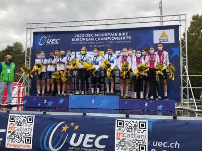 Mountain bike, Europei 2020: Italia mostruosa nel team-relay! Medaglia d'oro, battuta la Francia campionessa del mondo
