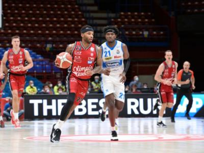 Basket, Serie A 2020-2021: la quarta giornata. L'Olimpia Milano ospita la Virtus Roma, Sassari sfida la Fortitudo Bologna