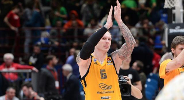 Basket: Eurolega 2020-2021, rinviata a domani Khimki Mosca-Zalgiris Kaunas