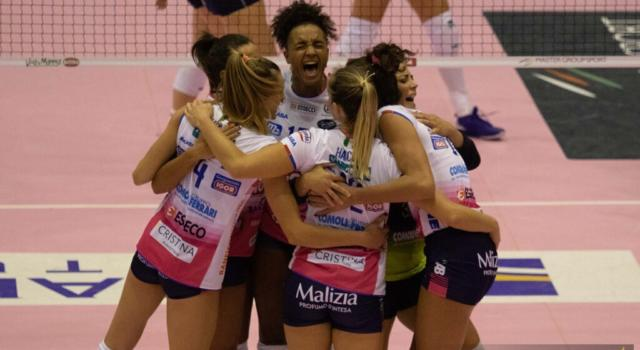 Volley femminile, Serie A1: Novara travolge Brescia nell'anticipo, Caterina Bosetti sugli scudi