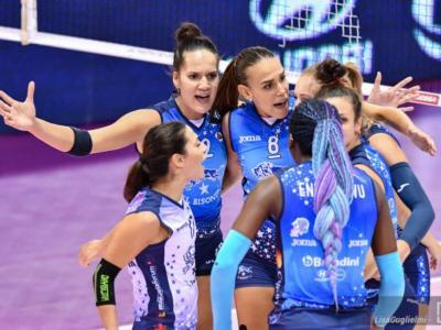 Volley femminile, Serie A1 2020-2021: Monza batte Firenze per 3-1 nel recupero della terza giornata