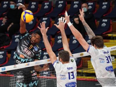 Volley, SuperLega: settima giornata. Perugia in testa, Civitanova liquida Milano. Monza batte Trento: è crisi