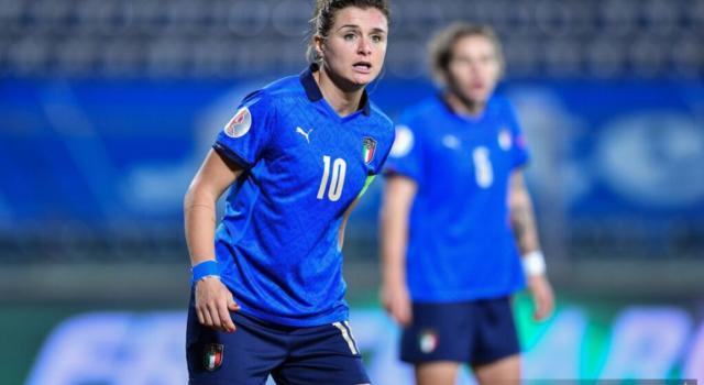 Calcio femminile, l'Italia a caccia di 2 gol contro Israele per volare agli Europei 2022