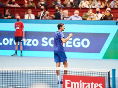 Sonego-Evans oggi, Semifinale ATP Vienna 2020: orario, programma, tv, streaming