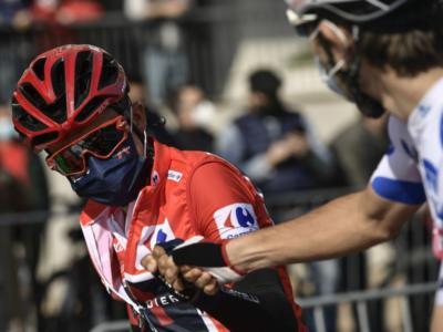 DIRETTA Vuelta a España 2020 LIVE: Roglic e Carapaz a pari tempo, sloveno in maglia roja