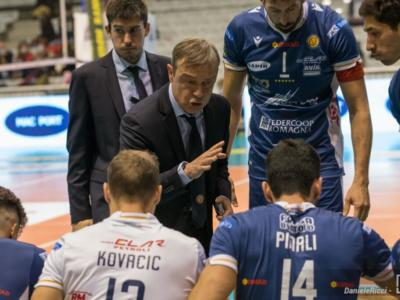 """Volley, Giulio Pinali: """"Sconfitta con Modena? Abbiamo fatto una buona partita, ma non siamo riusciti ad esprimere al meglio il nostro gioco"""""""