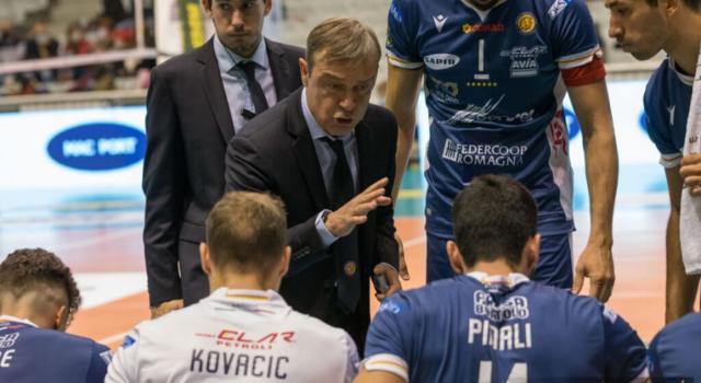"""Volley, Marco Bonitta: """"Ravenna ha 8 positivi, paghiamo il focolaio di Perugia. Ma la stagione deve andare avanti"""""""