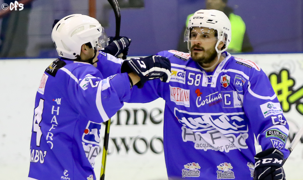 Hockey ghiaccio, Alps League 2020 2021: Cortina passa su Asiago, Ritten perde in casa