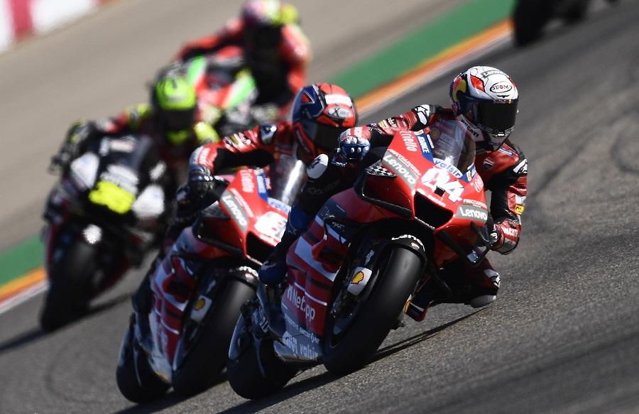 """LIVE MotoGP, GP Teruel 2020 in DIRETTA: Morbidelli vince: """"Sensazioni fantastiche""""; Dovizioso 13° ammette: """"Inutile parlare di Mondiale"""""""