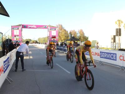 Ciclismo Elite/Under 23, 56° Giro del Friuli: la Uno-X vince la cronosquadre. Il danese Niklas Larsen primo leader