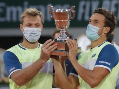 Roland Garros 2020, Krawietz e Mies trionfano nella finale del doppio contro Pavic e Soares a Parigi