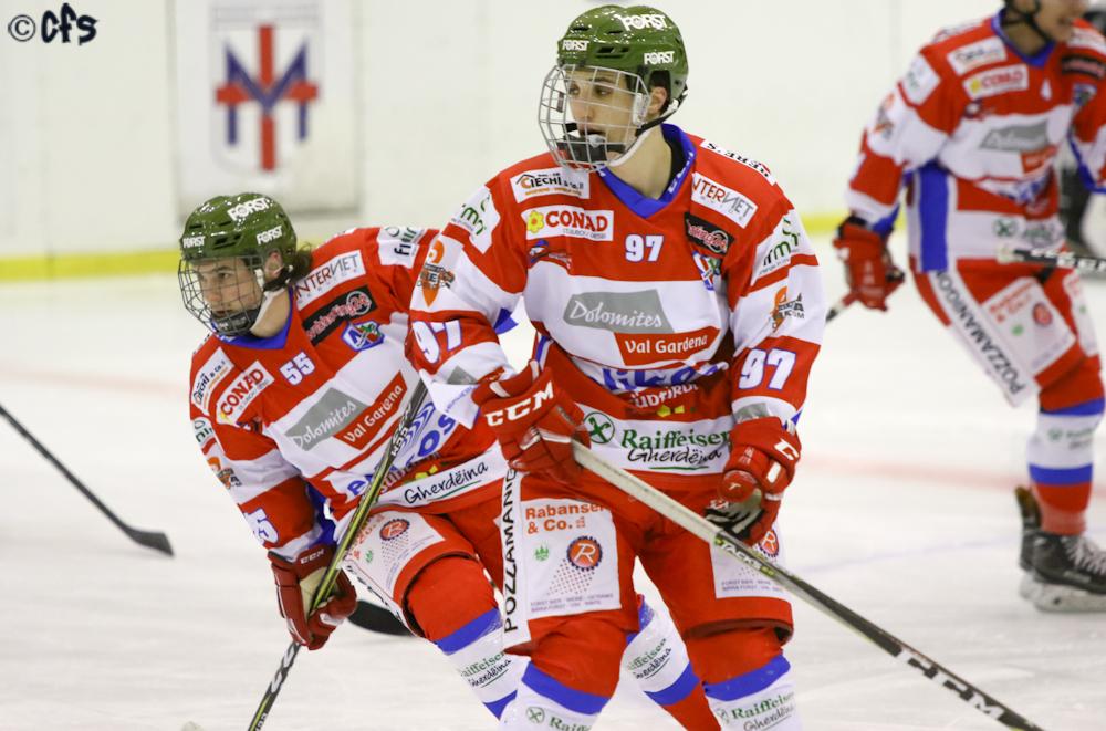 Hockey ghiaccio, Alps League 2021 2022: successi per Vipiteno, Fassa, Gherdeina e Cortina