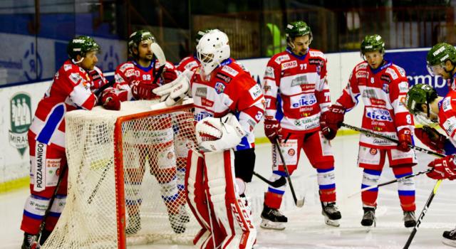 Hockey ghiaccio, Gherdeina ko contro Jesenice in gara-1 dei quarti di finale di Alps League