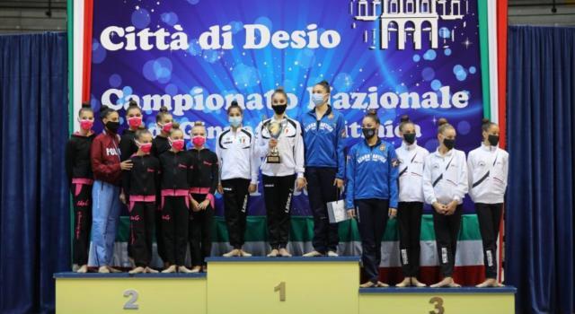 Ginnastica ritmica, Serie A: Fabriano vince la terza tappa a Desio. Baldassarri e Agiurgiuculese sugli scudi