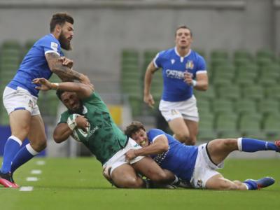 Rugby, pagelle Irlanda-Italia 50-17: azzurri dominati, Garbisi il migliore in campo