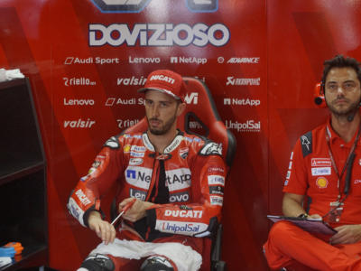 """MotoGP, Andrea Dovizioso: """"Ho sbagliato la scelta di gomme, alla fine non avevo più grip. Il Mondiale? È ancora aperto"""""""