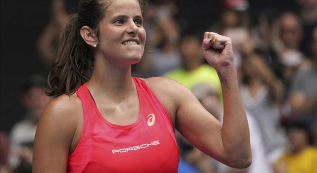Tennis: si ritira Julia Goerges, ex top ten in singolare e tra le migliori di Germania nell'ultimo decennio