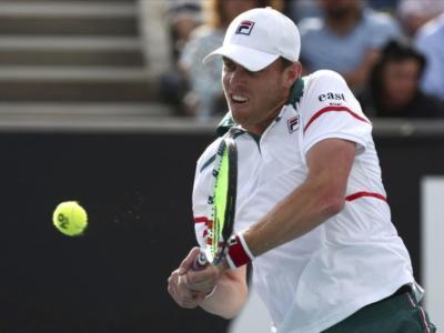 Tennis: solo una multa per Sam Querrey dopo la fuga da positivo al Covid-19 nel torneo di San Pietroburgo