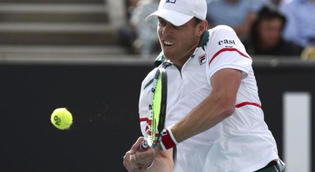 Tennis: l'ATP apre un'indagine per grave violazione del protocollo anti-Covid contro Sam Querrey