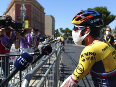 """Vuelta a España 2020, Primoz Roglic: """"La squadra ha dimostrato di essere davvero forte. Voglio godermi questa maglia rossa"""""""