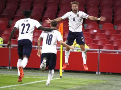 Pagelle Polonia-Italia 0-0, voti Nations League, Bonucci vince la sfida contro Lewandowski, Barella generoso