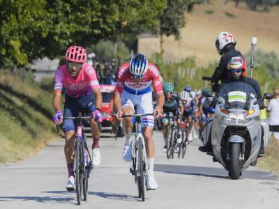 Giro d'Italia 2020: Portogallo super a Roccaraso con la vittoria di Guerreiro e la Maglia Rosa di Almeida. Nibali perde qualche secondo
