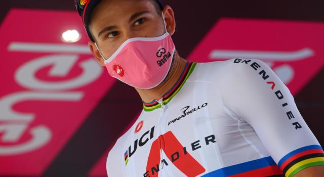 """Giro d'Italia 2020, Filippo Ganna: """"Sono molto felice. Abbiamo portato a casa un risultato fantastico anche grazie al team"""""""