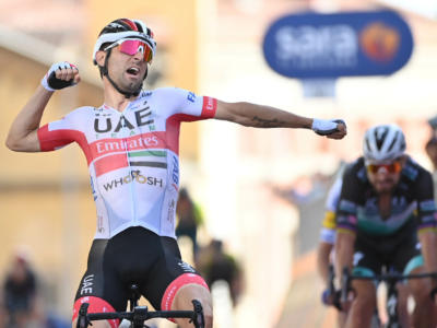 Giro d'Italia 2020: Diego Ulissi spettacolare a Monselice, arriva la seconda vittoria! Battuta in volata la maglia rosa di Almeida