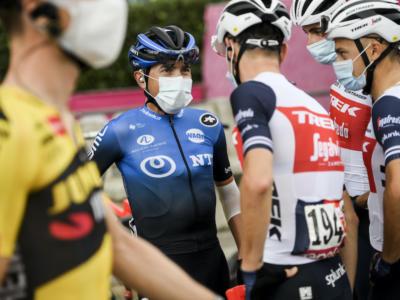 """Giro d'Italia 2020, Domenico Pozzovivo: """"Il vento contro ha sfavorito diversi movimenti nel finale. Mi sento in ottima condizione"""""""