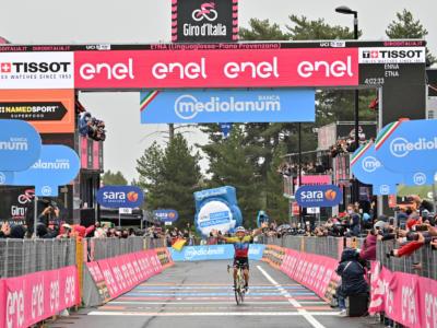 Ordine d'arrivo Giro d'Italia 2020, risultato di oggi: Caicedo trionfa sull'Etna alle sue spalle Visconti. Nibali chiude 7°