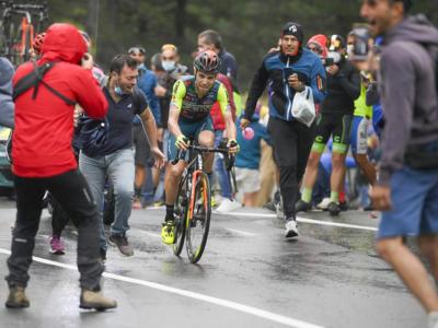 Giro d'Italia 2020, il grande cuore di Giovanni Visconti: va in fuga e sogna la vittoria, ma Caicedo lo beffa