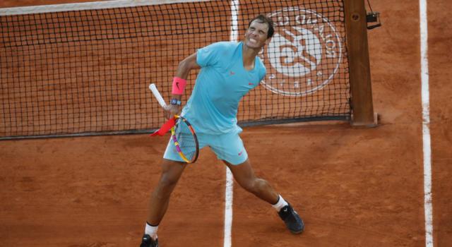 Rafael Nadal raggiunge Roger Federer: record di 20 Slam vinti, i fuoriclasse in cima alla classifica