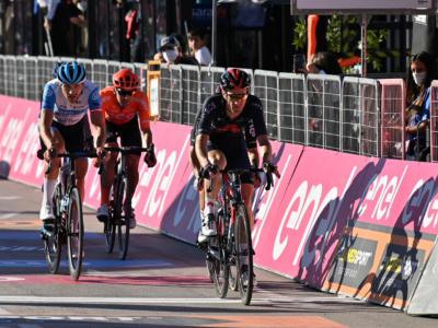 """Giro d'Italia 2020, Salvatore Puccio: """"Ci credevo molto ma gli Israel hanno fatto gioco di squadra. Andrò ancora all'attacco"""""""