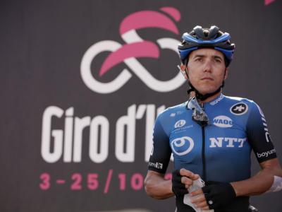 """Giro d'Italia 2020, Domenico Pozzovivo: """"Nell'ultima discesa ho avuto un problema"""""""