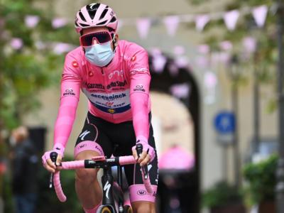 """Classifica Giro d'Italia 2020, tredicesima tappa: Almeida guadagna con l'abbuono! Pozzovivo a 1'03"""", Nibali a 1'07"""""""