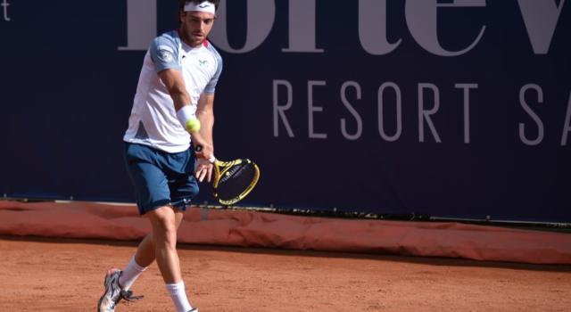 """Tennis, Marco Cecchinato dopo la sconfitta in finale a Pula: """"Continuo ad essere positivo, sono rientrato nei primi 80 del ranking"""""""