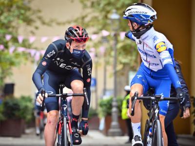 Giro d'Italia 2020: a Piancavallo la Sunweb di Kelderman fa paura. Vince Geoghegan Hart, Almeida resiste in rosa