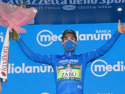 """Giro d'Italia 2020, Giovanni Visconti: """"Proverò a difendere la Maglia Azzurra fino a Milano. Voglio un successo di tappa"""""""
