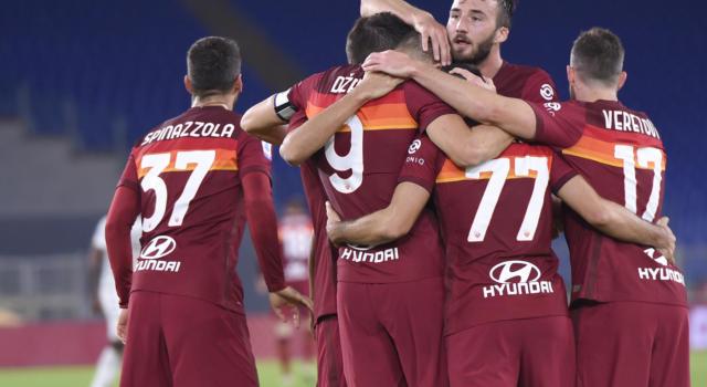 Roma-Benevento 5-2, Serie A: i giallorossi dilagano nell'ultima mezzora, doppietta di Dzeko