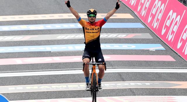 """Giro d'Italia 2020: il gruppo lascia andare la fuga, a San Daniele del Friuli vince Jan Tratnik. Almeida guadagna 2"""""""