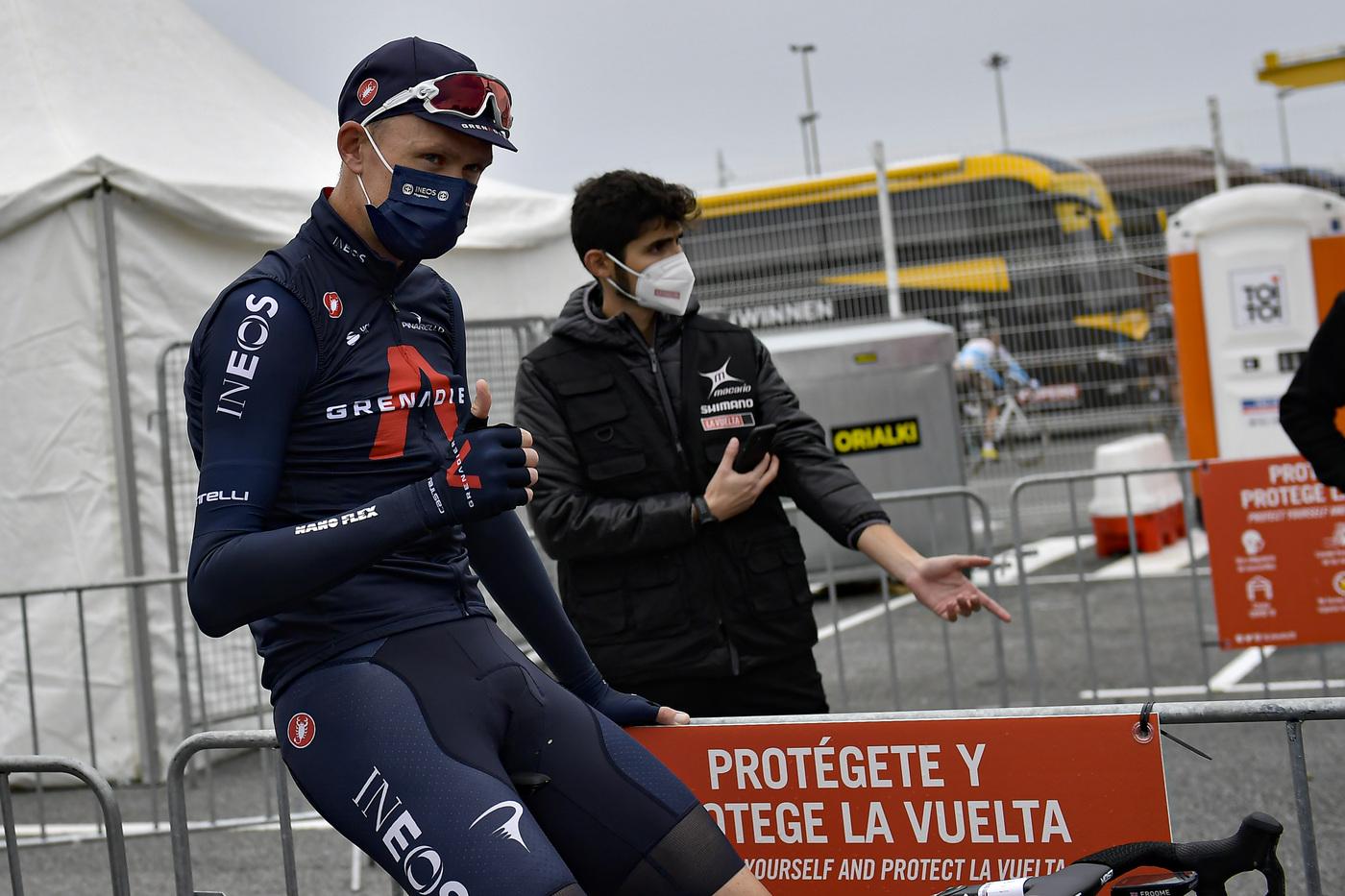 """Vuelta a España 2020, Chris Froome: """"Mi sento meglio rispetto alle gare precedenti, proverò a vincere una tappa"""""""